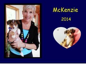 +2014 McKenzie puppy